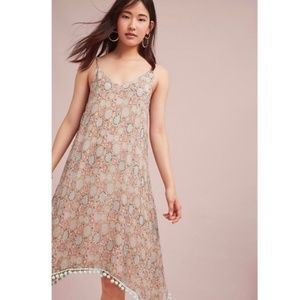 new Anthropologie Amalfi Sequin Dress